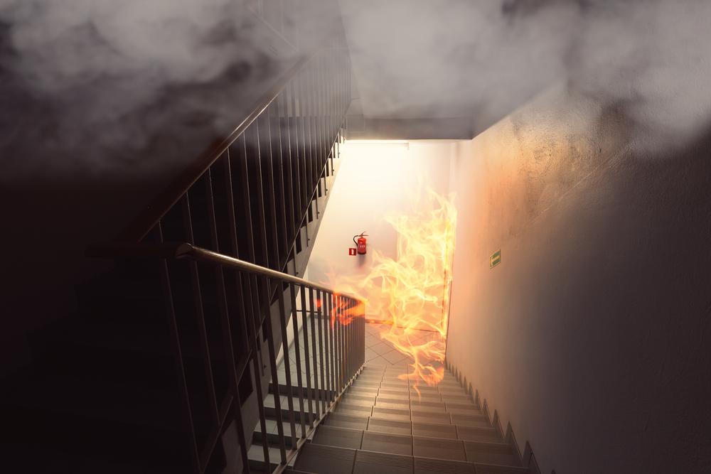 หากเกิดเหตุไฟไหม้ที่คอนโดของเรา สามารถแจ้ง รปภ ได้หรือไม่